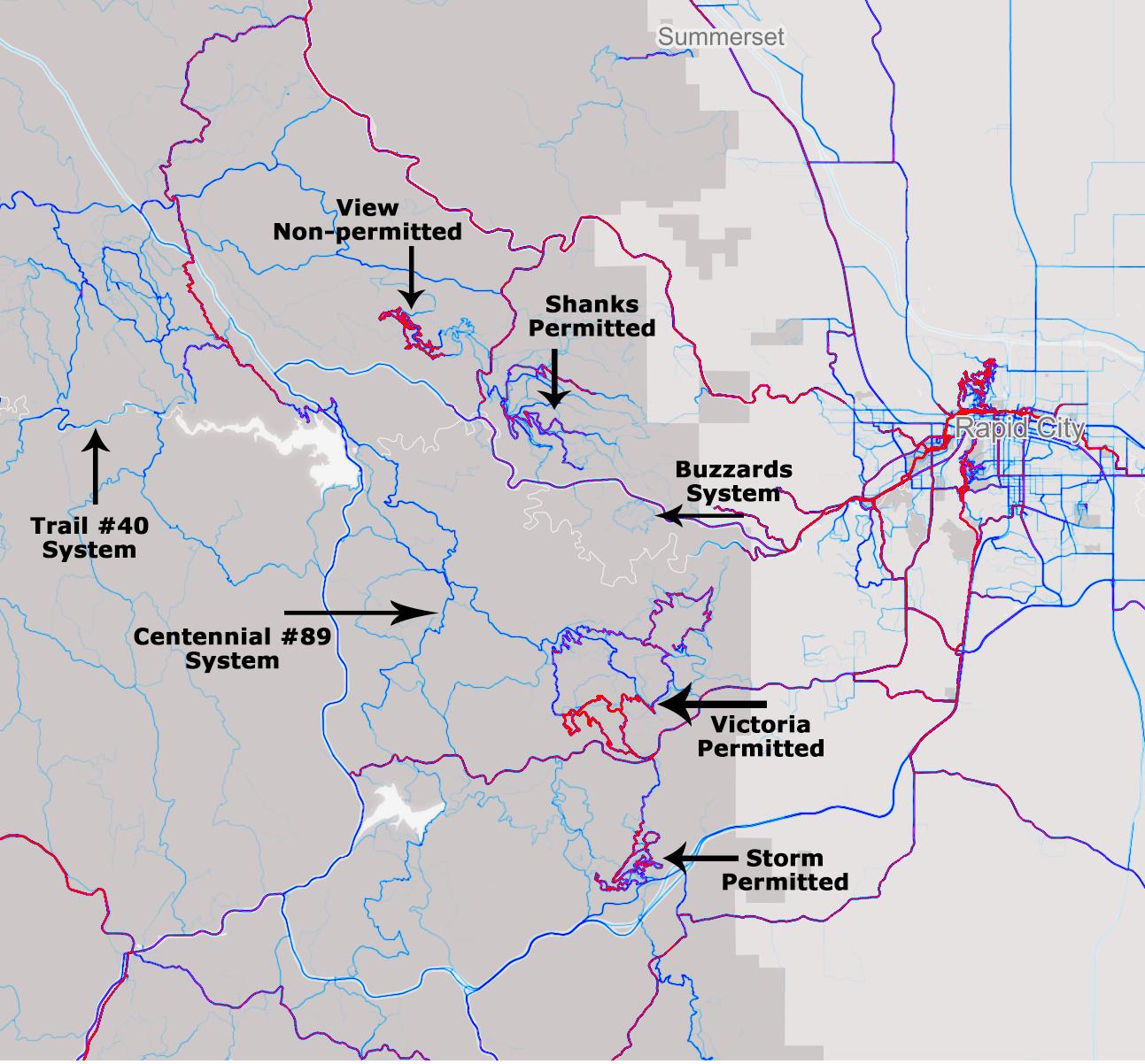 Black Hills Centennial Trail  |Black Hills Trail Reports